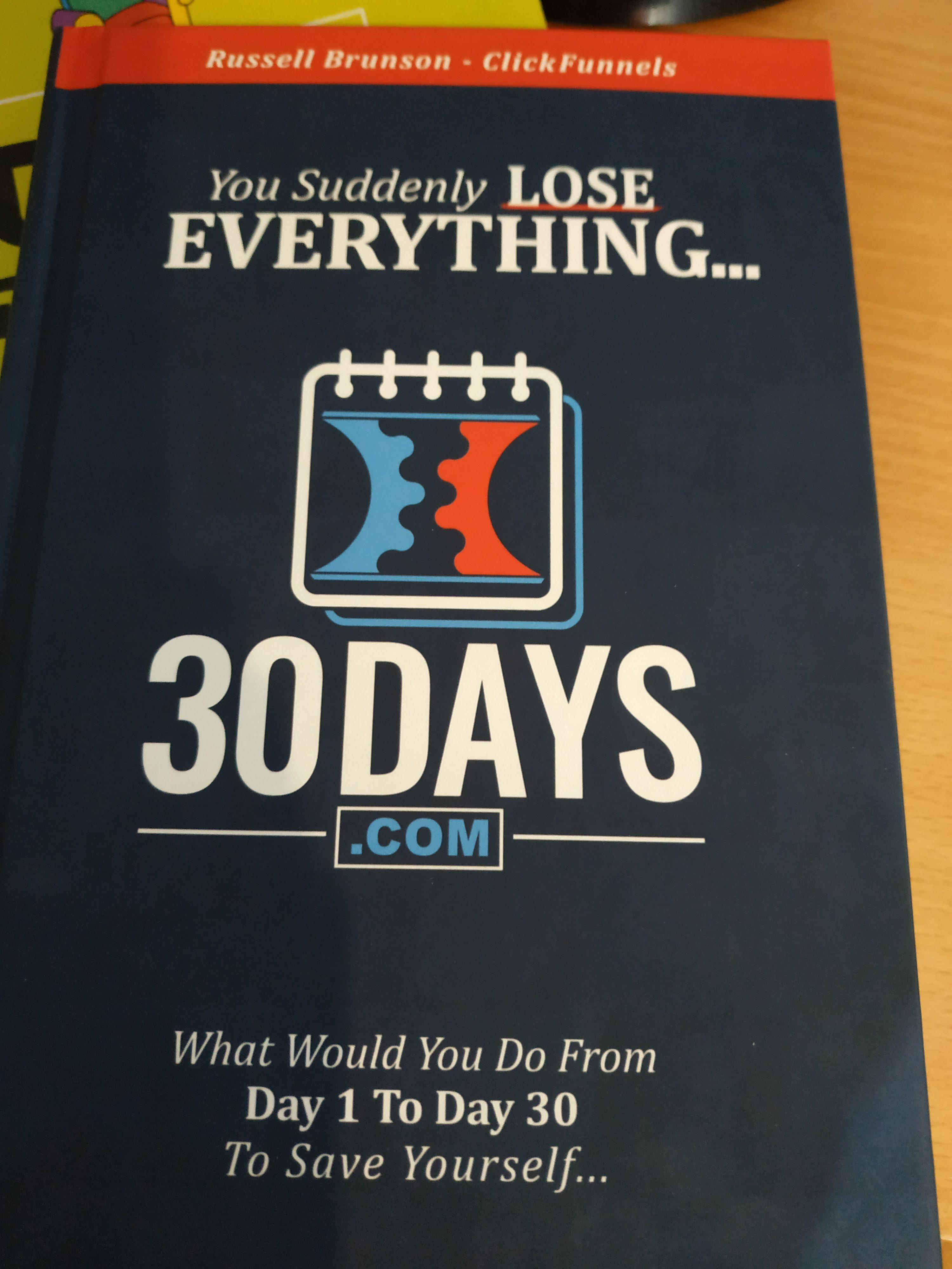 ספר מומלץ - תוכנית פעולה ל30 ימים